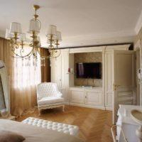 Klasisks guļamistabas dizains