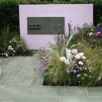 Moderna dārza dizains