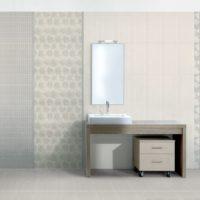 Minimālisma vannas istabas mozaīka