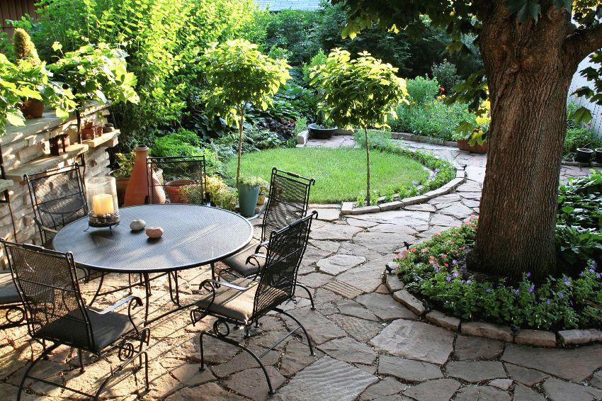 Klasiskā stila dārza dizains