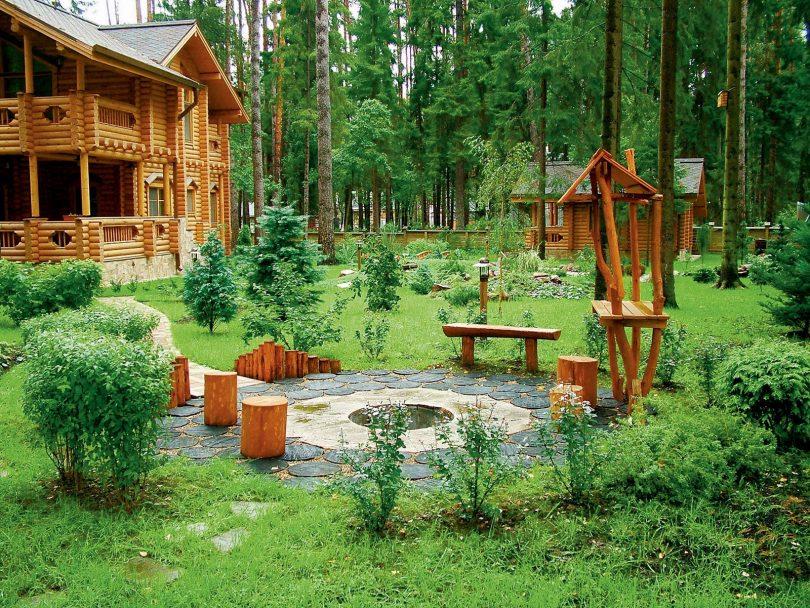 Skaists dārza zemes gabala dizains 15 akriem