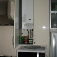 Module de cuisine pour chaudière à gaz