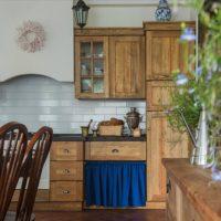 Set de cuisine en bois