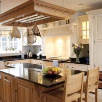 Virtuves telpas dizains vācu stilā