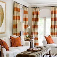 Oranžās krāsas izmantošana tekstilizstrādājumos