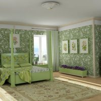 Decorating the walls of the bedroom with paintings