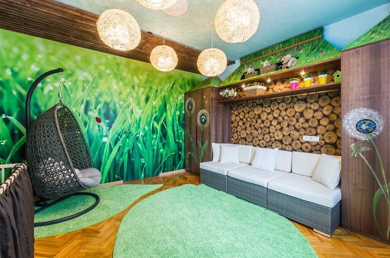 Eco-friendly baby room