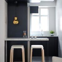 Petite cuisine minimaliste