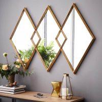 Sienu dekorēšana ar spoguli