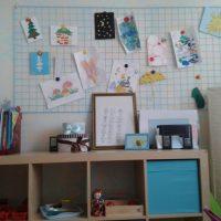 Bērnu zīmējumu mājas galerija