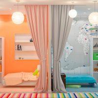 Chambres de zonage pour filles et garçons