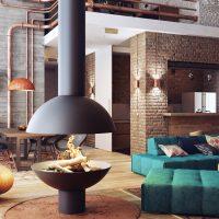 Décoration de style loft