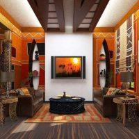 Canapé de style oriental