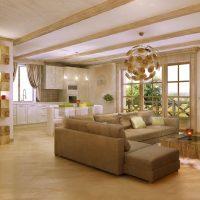Concevoir un spacieux salon-cuisine