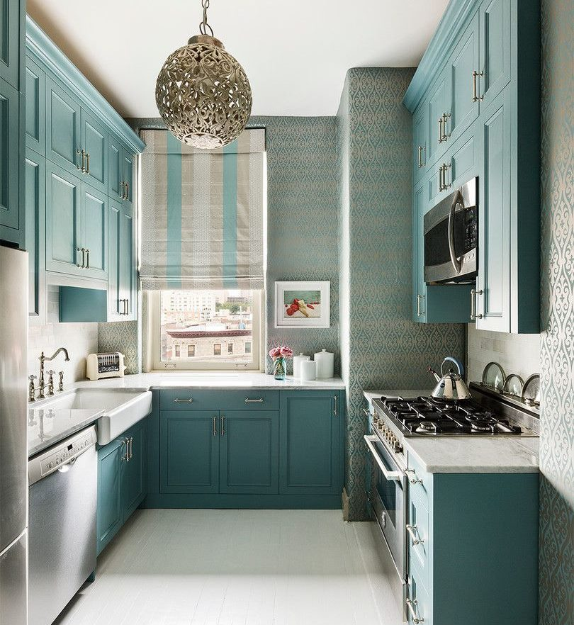 Dekorējot virtuves sienas ar attēlu
