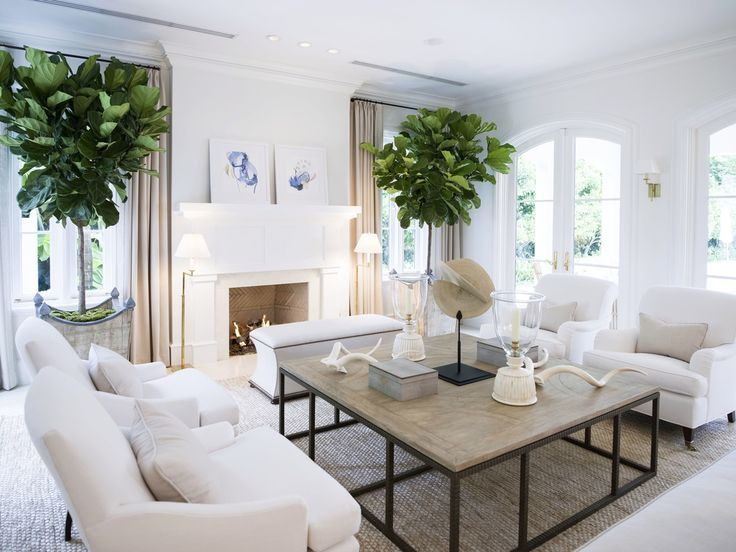 Aire de repos dans le salon avec mobilier parallèle
