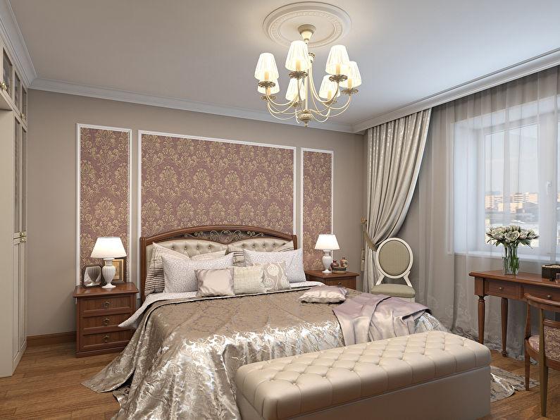 L'utilisation de moulures dans la décoration de la chambre