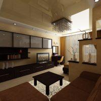 Surface de plafond tendue et brillante