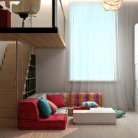 Alacsony szögletes kanapé