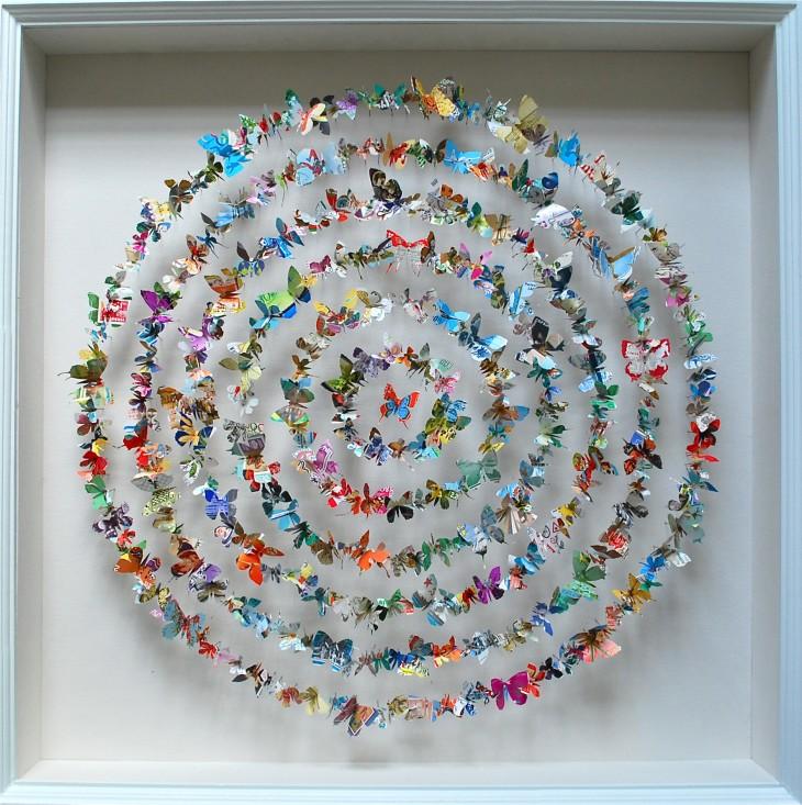 Papillons décoratifs pour décorer l'intérieur de la maison