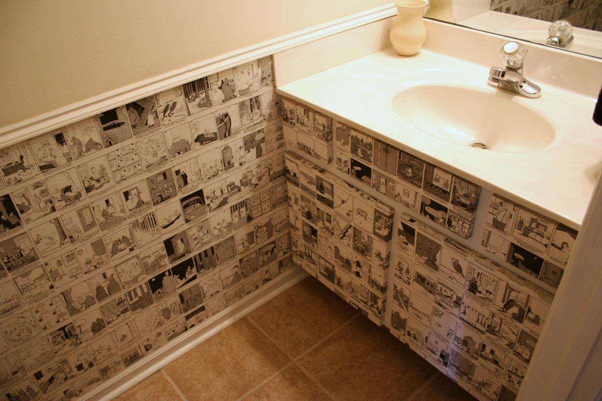 Décoration de salle de bain DIY