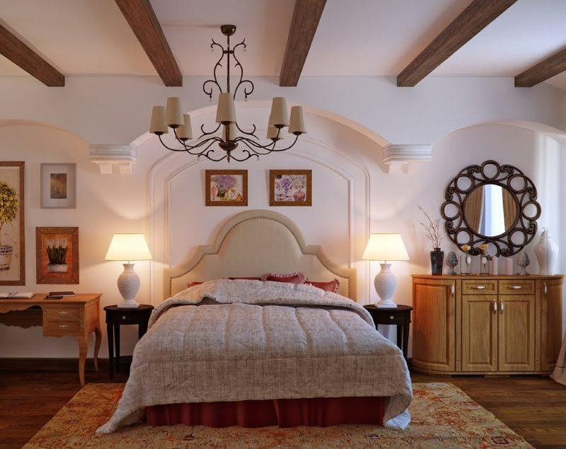 Provansas stila guļamistabas paklājs