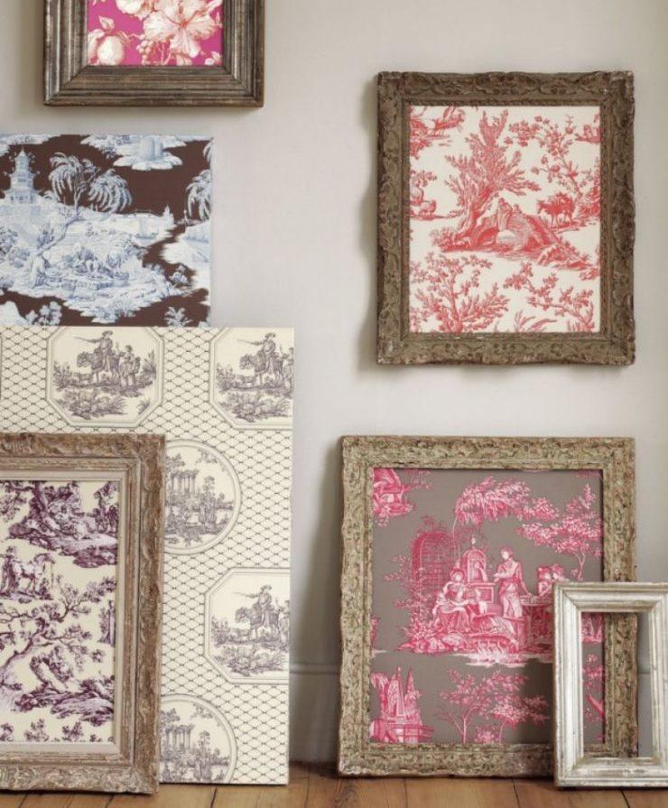Photos décoratives de papiers peints inutiles