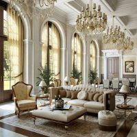 Lauku mājas priekšnams klasiskā stilā