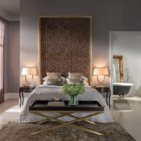 Dizains guļamistabā mūsdienīgā stilā