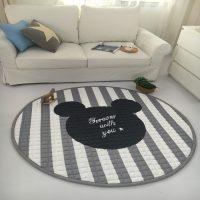Silts apaļais paklājs