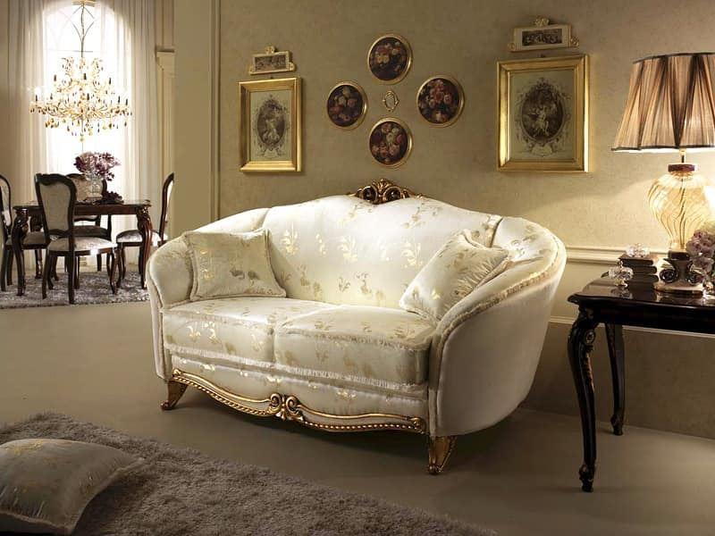 Klasiskā stila viesistabas interjers