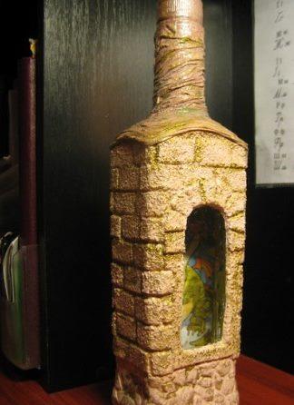 Dāvanu pudeles dekors 23. februārim