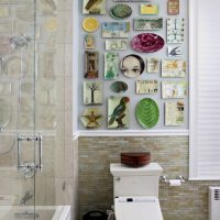 DIY vannas istabas dekors