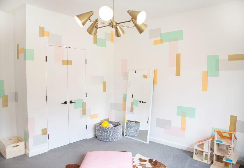 DIY rotājums bērnu istabā
