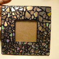 Spoguļa mozaīka dekorā