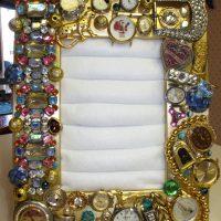 Rokas pulksteņa rāmja dekorēšana