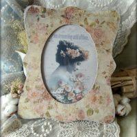 Vintage dekupāžas dekors