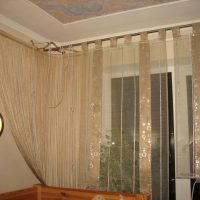 Masking pipes with curtains