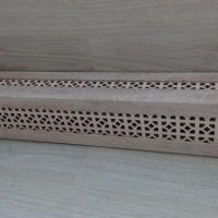 Box with perforation on the heating pipe