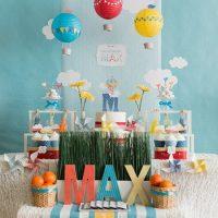L'idée de décorer un anniversaire de bébé