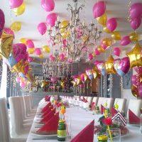 Grande table pour recevoir les invités de l'enfant fêté
