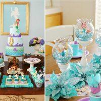 Décoration de table de fête pour l'anniversaire d'un garçon