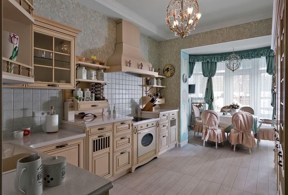 Concevoir une belle cuisine dans un style classique