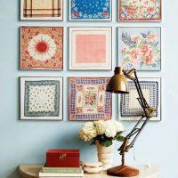 Modulāras tekstilizstrādājumu gleznojumi