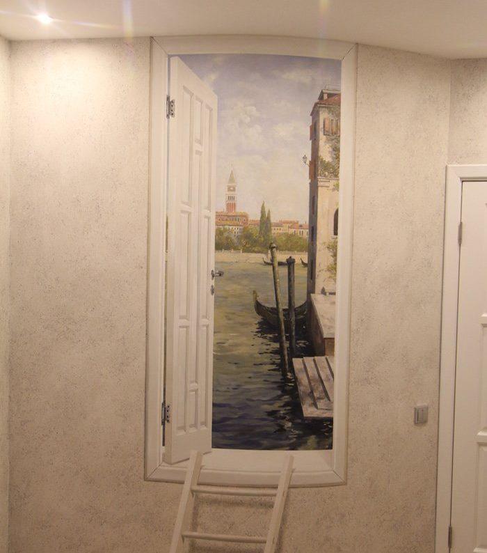Sienu krāsošana kā mājas interjera dekorēšana
