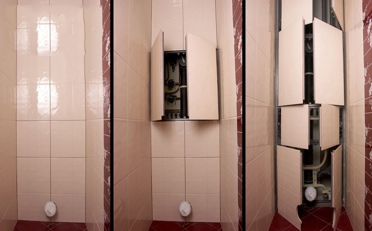 Decoration of communication systems in the bathroom