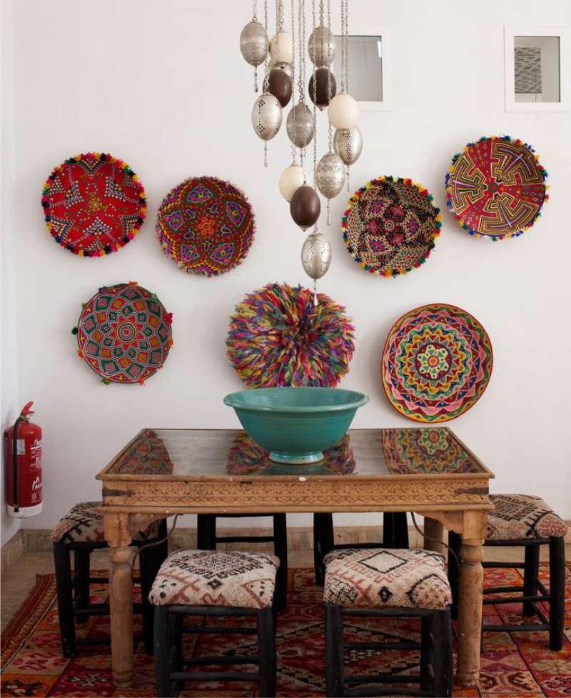 Austrumu stila kaluma dekoratīvās plāksnes