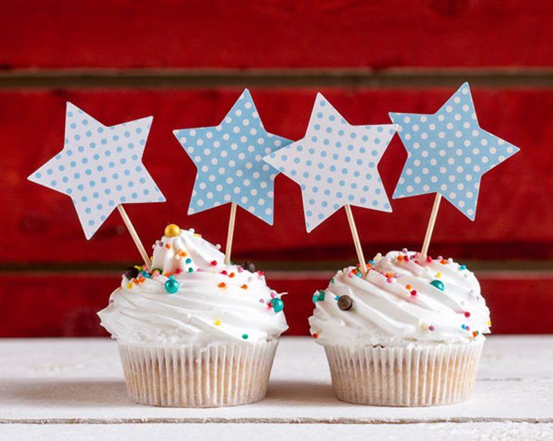 Gâteaux pour la décoration du papier