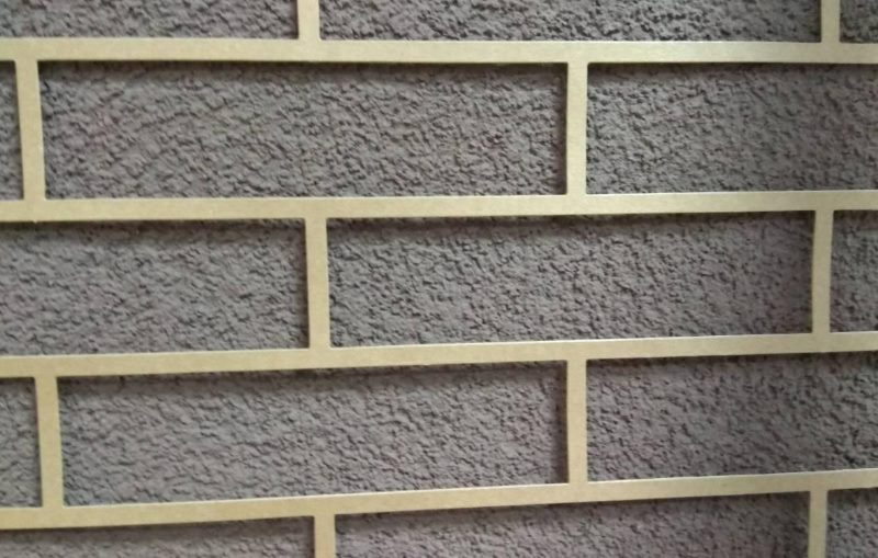 Kompozit stencil a falazat szimulálására