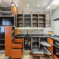 Casque moderne à tiroirs